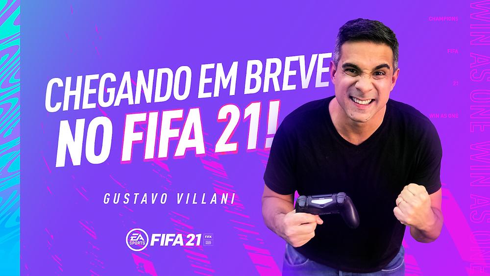 Pela primeira vez no Brasil, FIFA 21 também contará com a presença de um repórter de estúdio (Foto: EA Sports / Divulgação)