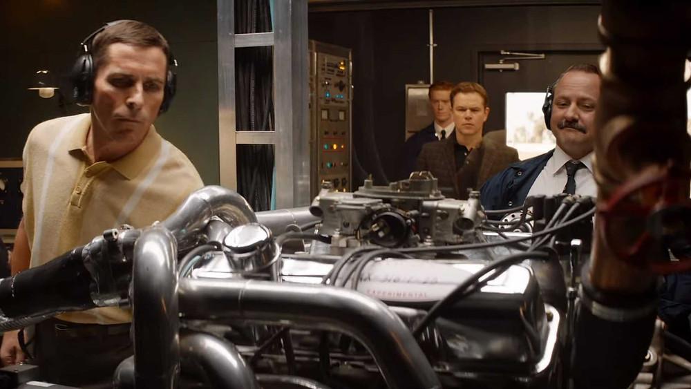 A atmosfera mostrada em Ford vs Ferrari transporta o espectador direto aos anos 60 e revive a paixão pelo automobilismo (Imagem: Fox / Divulgação)