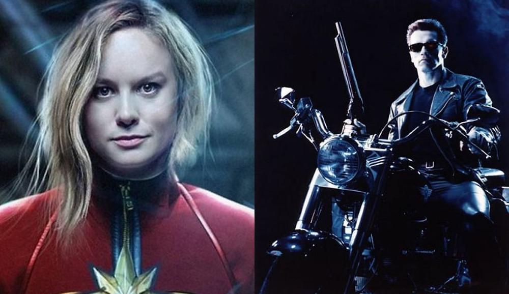 Capitã Marvel é em partes inspirado em Exterminador do Futuro 2