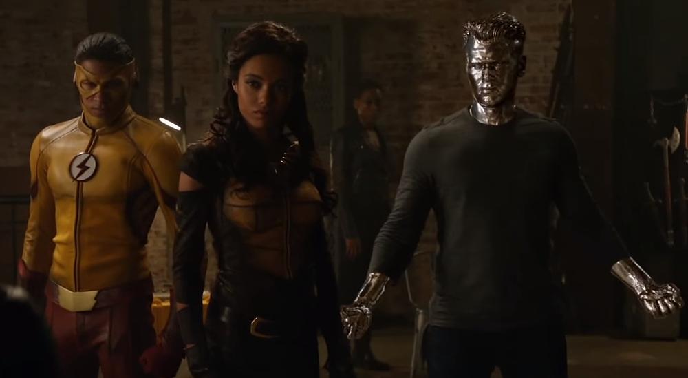 Wally (Kid Flash), Amaya (Vixen) e Nate (Cidadão Gládio) ganharam destaque na terceira temporada. (Imagem: CW/divulgação)