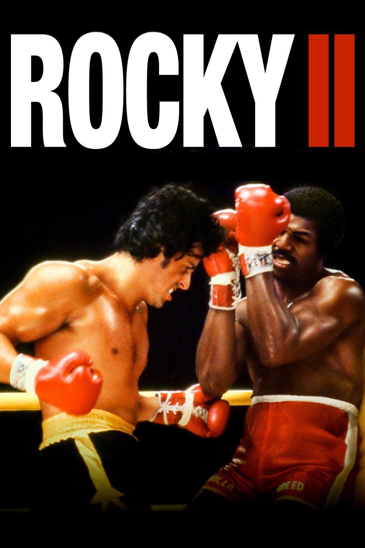 Rocky II: A Revanche - pôster do filme