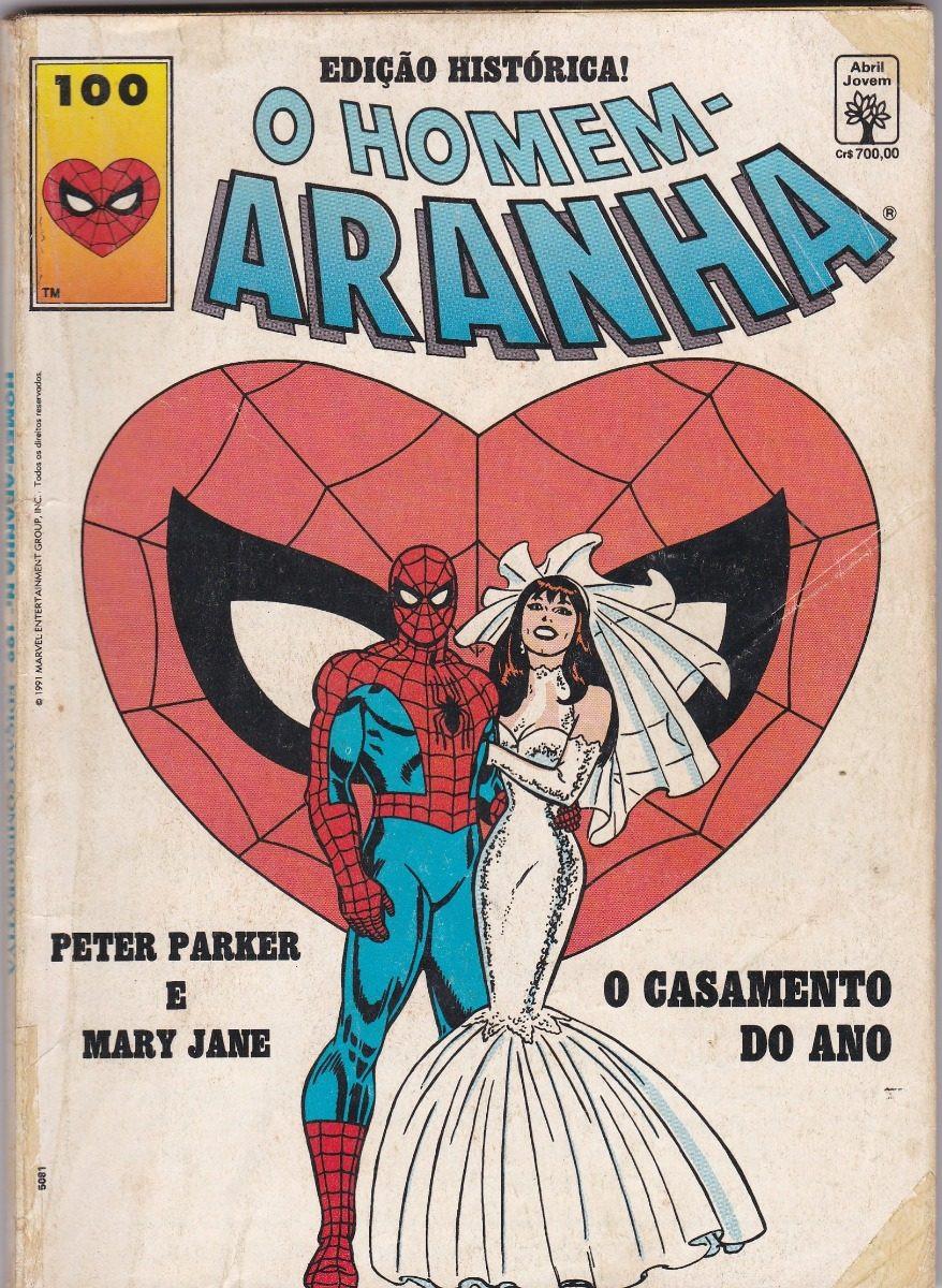 Um clássico dos quadrinhos,  o casamento do Teioso com a MJ é uma leitura imprescíndivel para os fãs do herói