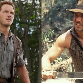 Como seria Chris Pratt no papel de Indiana Jones? Veja a seguir