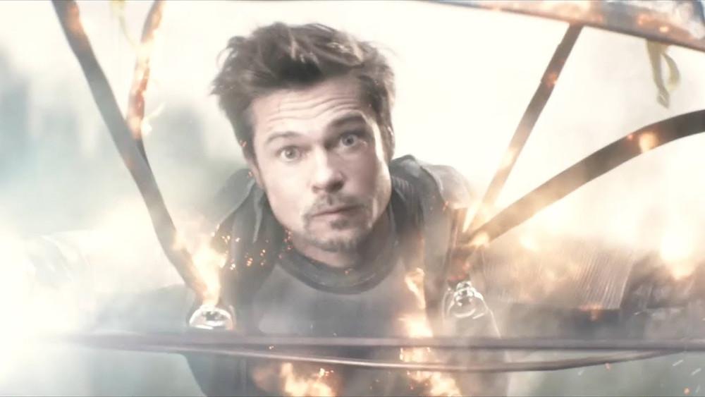 Após participação especial em Deadpool 2, o ator Brad Pitt agora fará filme com o diretor David Leitch (Foto: 21th Century Fox / Reprodução)