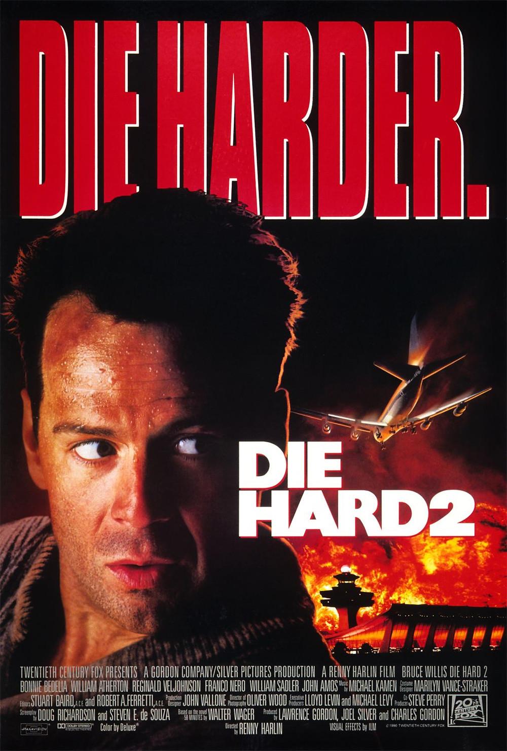 Duro de Matar 2, pôster do filme