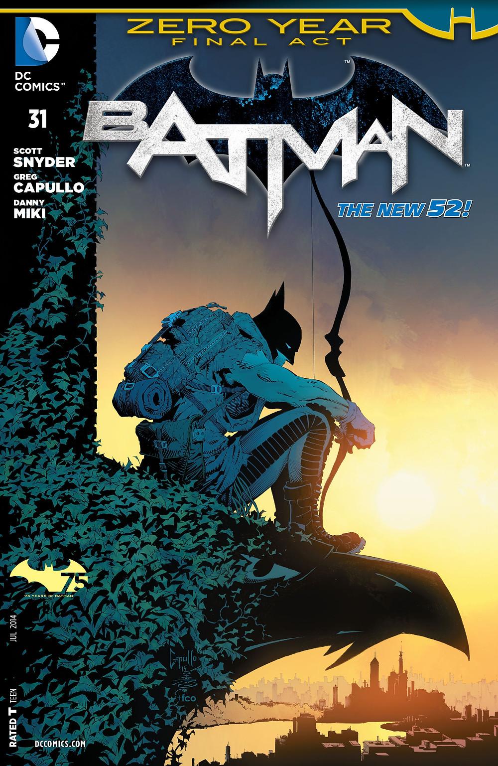 """A HQ """"Batman: Ano Zero"""" servirá de inspiração à 5ª temporada de Gotham. (Imagem: DC Comics/Divulgação)"""