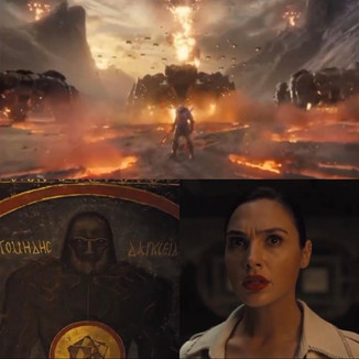 Darkseid aparece em novo teaser do Snyder Cut de Liga da Justiça