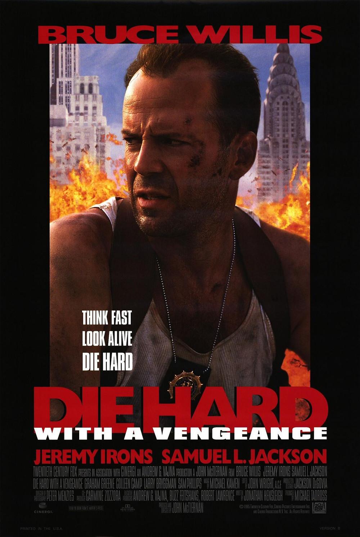 Duro de Matar - A Vingança, pôster do filme