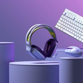 Logitech lança coleção de periféricos coloridos para gamers