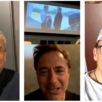 Robert Downey Jr confirma reunião com o elenco original de Vingadores