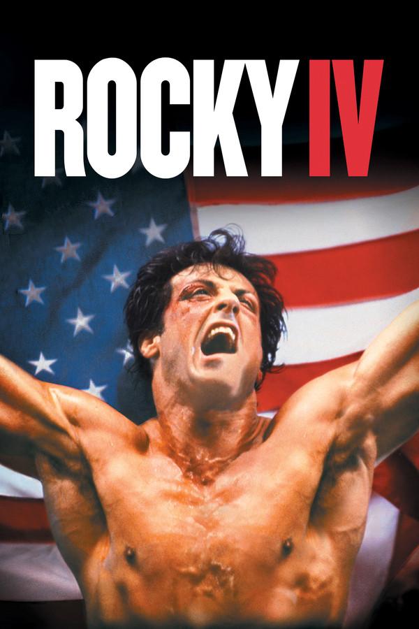 Rocky IV - pôster do filme
