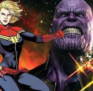 """Josh Brolin """"Thanos"""" confirma cenas com Capitã Marvel"""