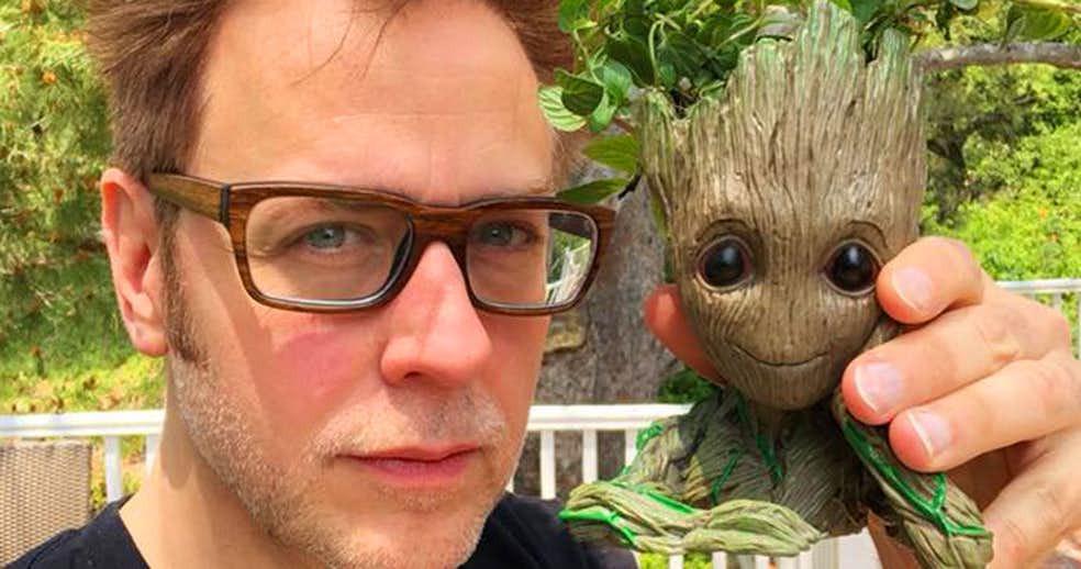 O diretor James Gunn foi demitido pela Disney após o resgate de tweets antigos em sua conta.