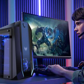 Acer expande linha Predator com desktops, monitores e acessórios