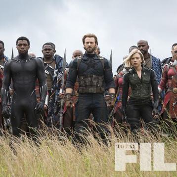 Capitão América e Cia, aparecem em nova imagem de Vingadores: Guerra Infinita