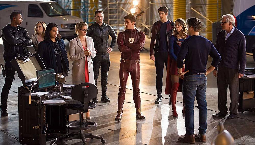 """O mega crossover do """"Arrowverse"""" é composto pelas série: Arrow, Legends of Tomorrow, Supergirl e The Flash. (Imagem: CW/Divulgação)"""
