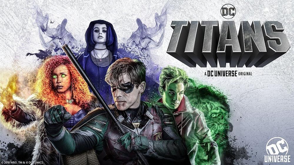 Titans foi a primeira série original criada para o DC Universe (Imagem: DC Universe/Divulgação)
