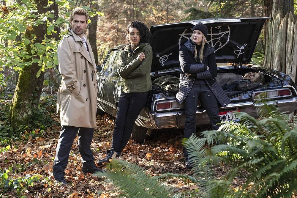 O crossover de Legends of Tomorrow com Supernatural foi um dos pontos altos da quinta temporada (Foto: The CW / Divulgação)