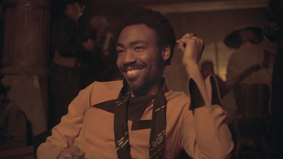 O ator Donald Glover será o responsável por interpretar a vrsão jovem de Lando Calrissian. (Imagem: Disney / Lucas Films / Reprodução)