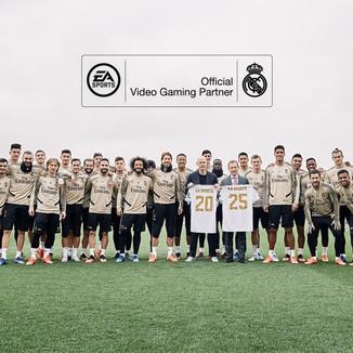 EA renova parceria com Real Madrid para a franquia FIFA