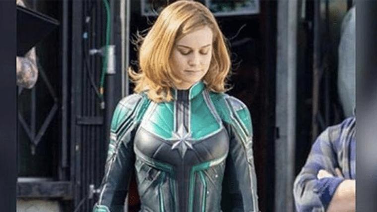 A atriz Brie Larson já foi flagrada no set de filmagens de Capitã Marvel. (Imagem: Comicbook/divulgação)
