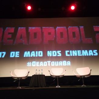 Turnê de divulgação Deadpool 2 #deadtourbr - Evento