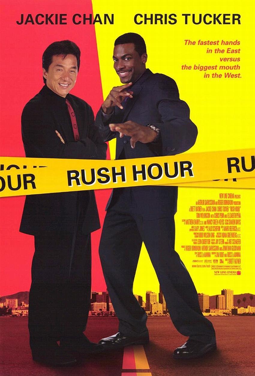Pôster de A Hora do Rush