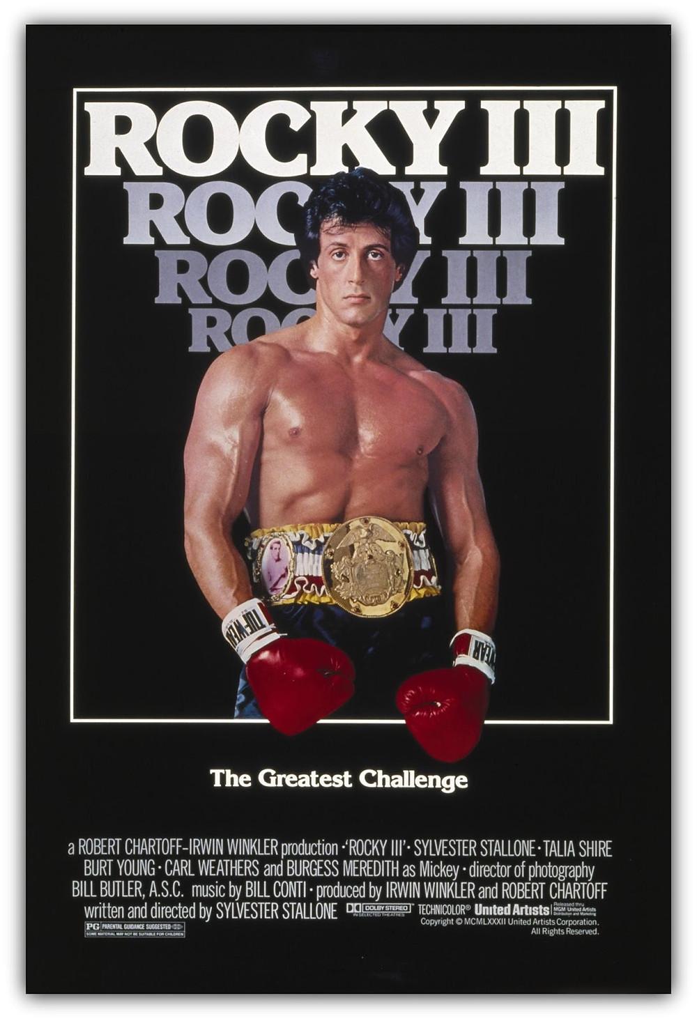 Roky III: O Desafio Supremo - pôster do filme