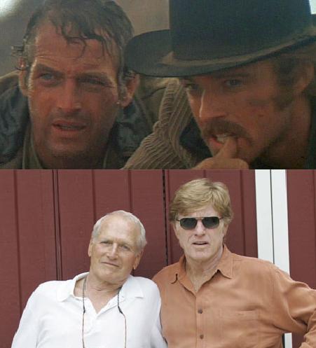 Paul Newman e Robert Redford fizeram uma parceria de sucesso no filme Butch Cassidy