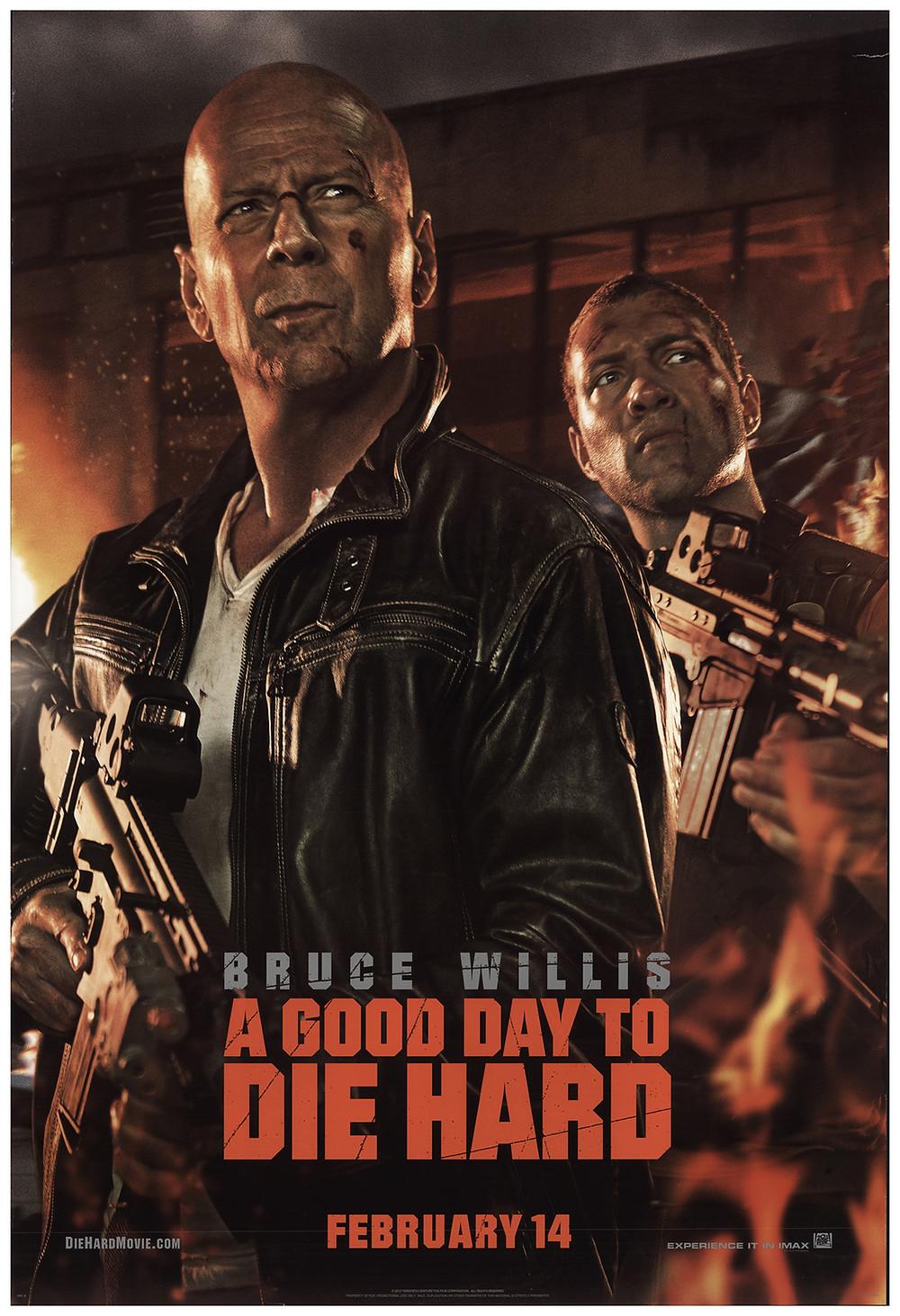 Duro de Matar - Um Bom Dia para Morrer, pôster do filme