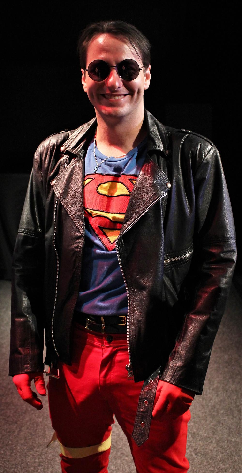 Capitão Fernando, o cosplay do Superboy