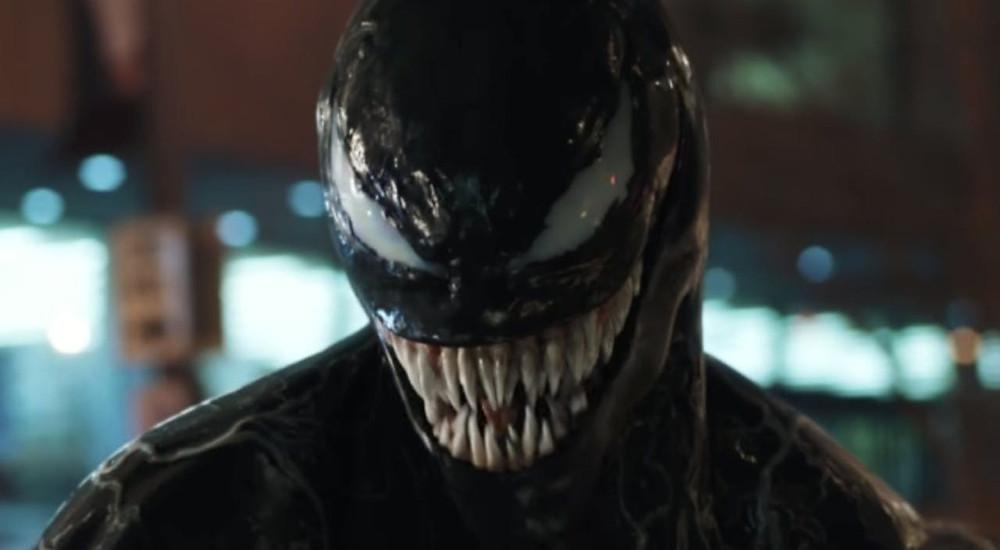 Imagem do trailer de Venom
