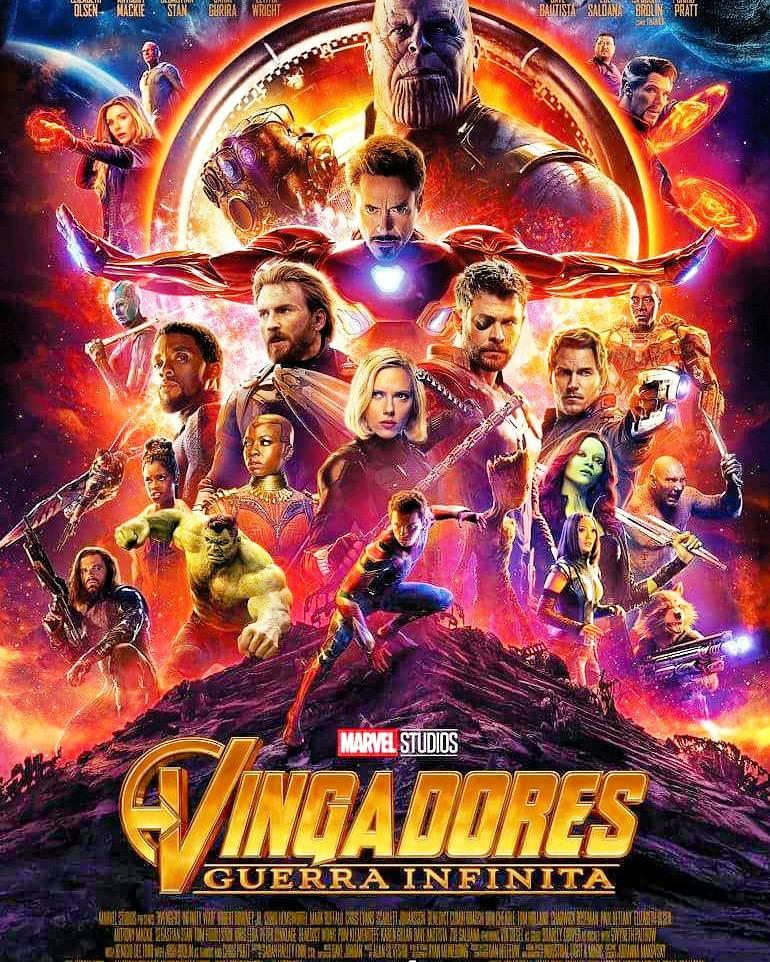 Marvel liberou nesta sexta (16) o poster animado de Vingadores: Guerra Infinita (Imagem: Divulgação/Marvel)