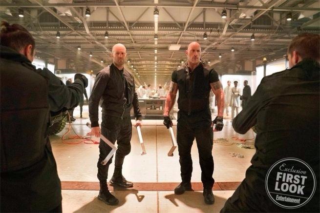 Confira a primeira imagem oficial de Hobbs & Shaw (Foto: Daniel Smith / Universal)