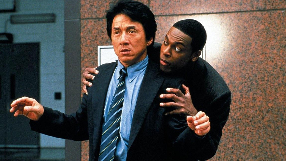Jackie Chan e Chris Tucker estrelam nesta comédia policial dos anos 90