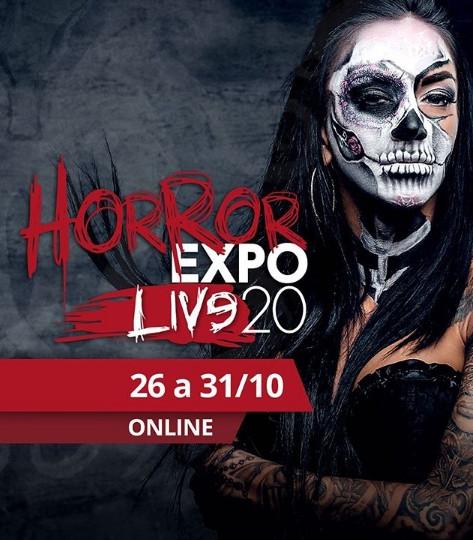 Horror Expo 2020 será no formato virtual (Foto: Divulgação)