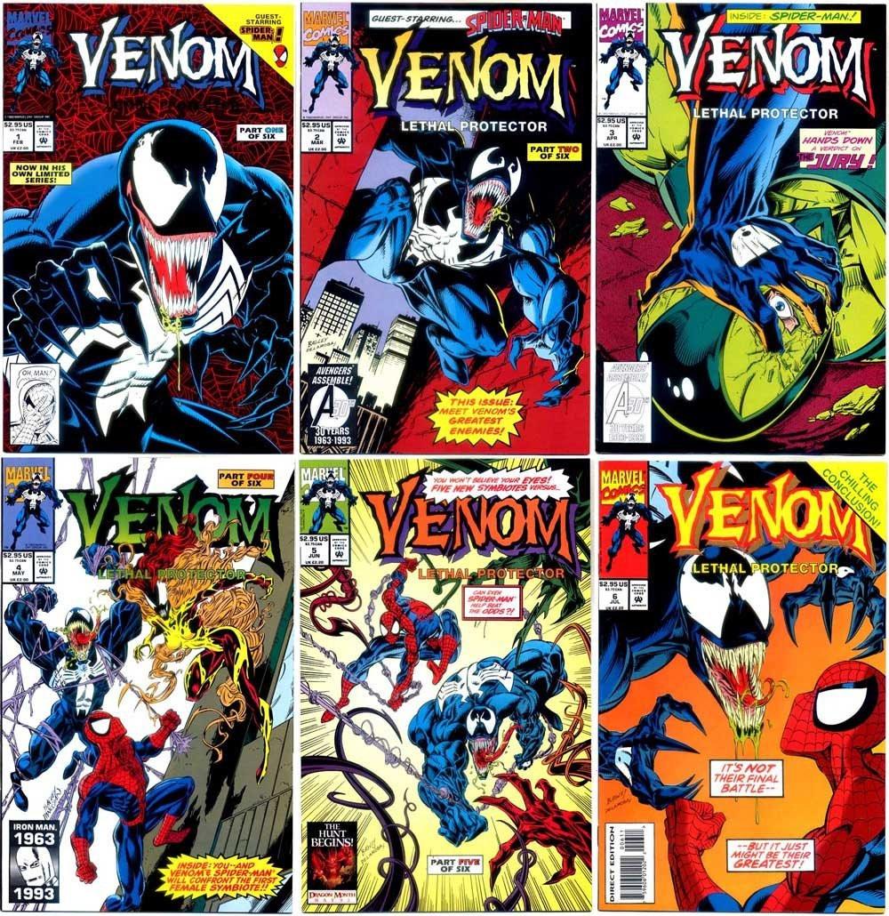Protetor Letal foi dividido em seis partes de uma história de redenção do inimigo do Homem-Aranha