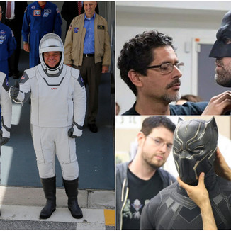 Artista de Batman e Capitão América criou os trajes dos astronautas da SpaceX