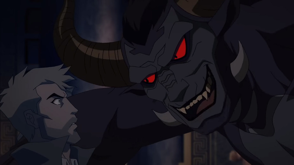 John Constantine enfrenta ao mesmo tempo os demônios de seu prente e passado. (IMagem: DC/Warner/Reprodução)