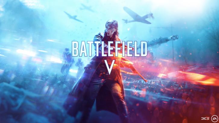 Foto oficial do game Battlefield V