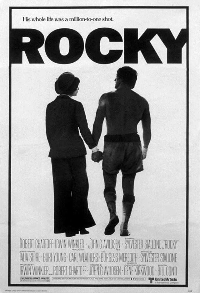 Rocky: Um Lutador - pôster do filme