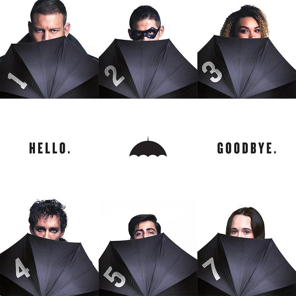 The Umbrella Academy será baseada na série de quadrinhos do cantor Gerard Way e do brasileiro Gabriel Bá (Imagem: Netflix/Reprodução)