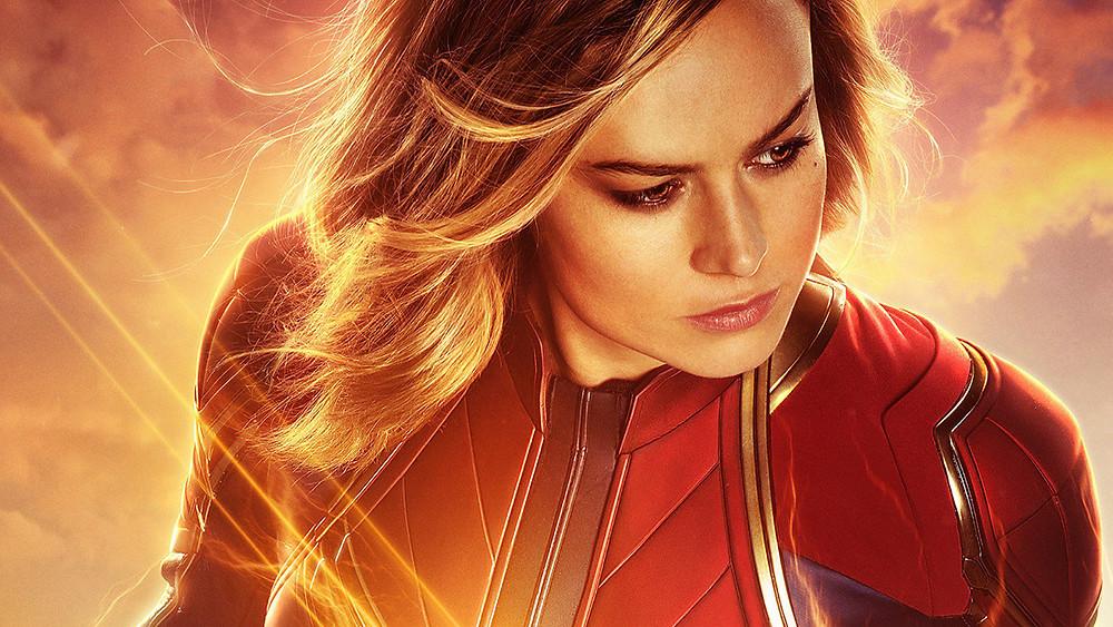 A atriz Brie Larson, que faz sucesso no papel da Capitã Marvel, confirma que fez testes para Star Wars e Exterminador do Futuro (Foto: Marvel Studios / Divulgação)