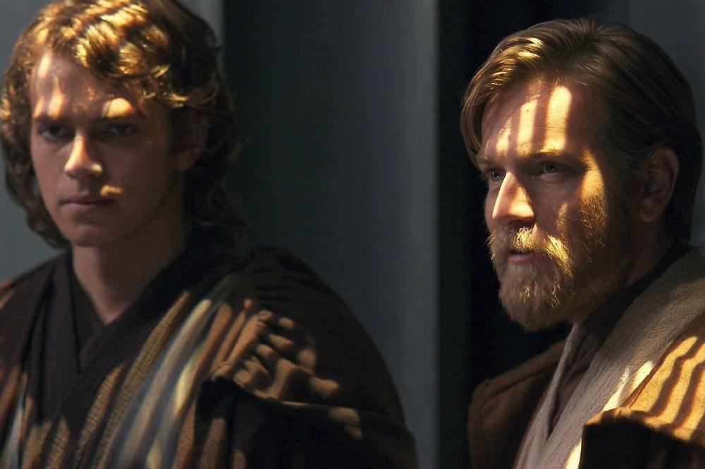 Hayden Christensen (esquerda) e Ewan McGregor (direita), em Star Wars: A Vingança dos Sith (2005). Veremos os dois juntos como Anakin e Obi-Wan mais uma vez? (Imagem: Lucas Film / Reprodução)