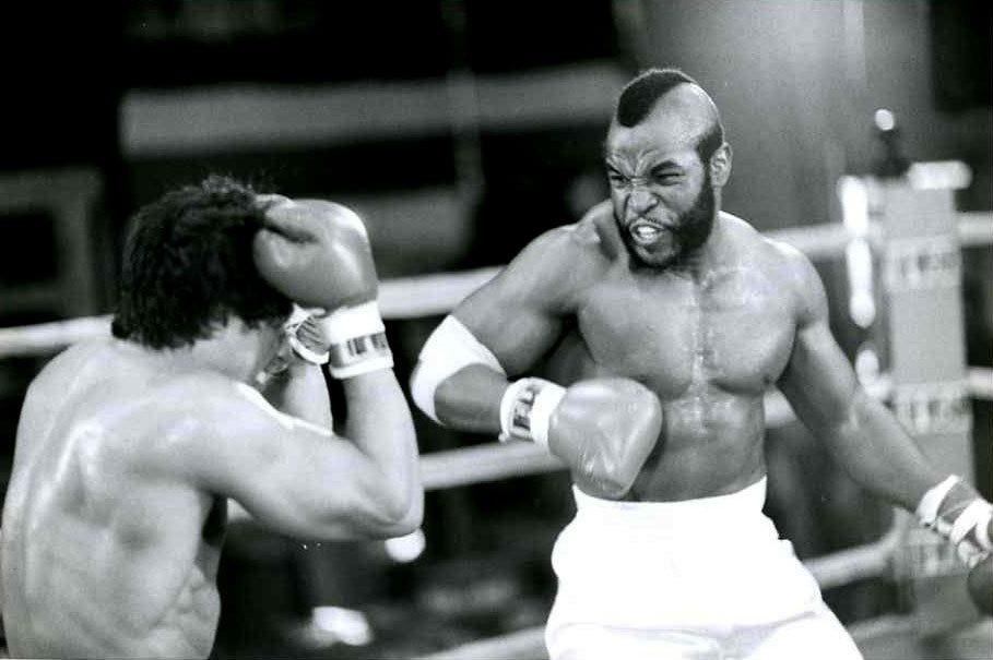 Cena da luta de Rocky contra Clubber Lang