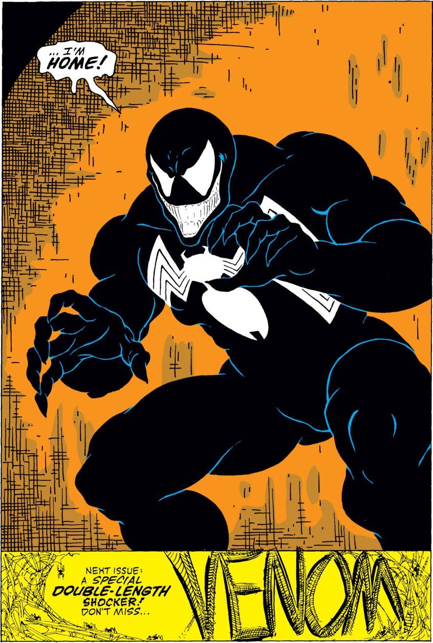 Primeira aparição de Venom em Amazing Spider-Man #299