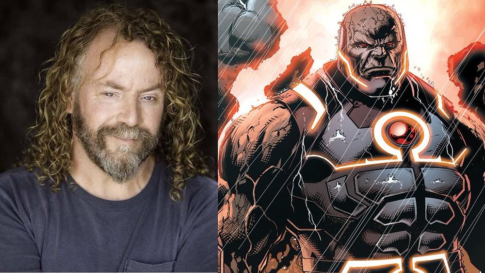 Responsável pelo papel de Darkseid na Liga da Justiça de Zack Snyder, o ator Ray Porter acredita que Ava DuVernay deve escalar quem ela quiser como Darkseid no longa Novos Deuses (Foto: Internet / Reprodução)