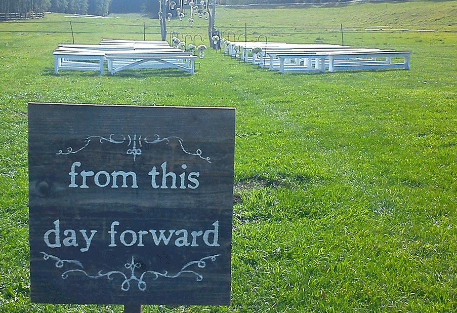 Ceremony Sign