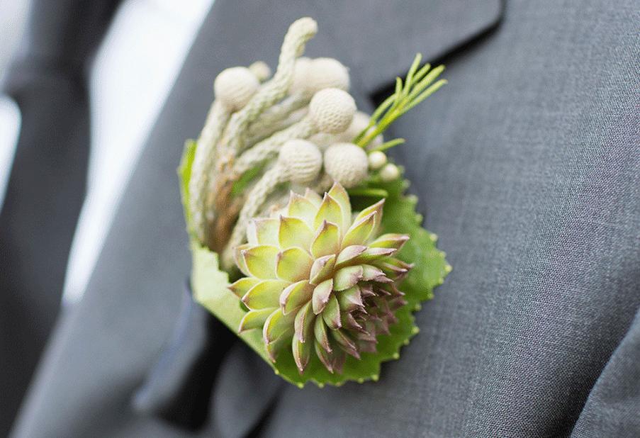 Mini Succulent and Berried Brunia