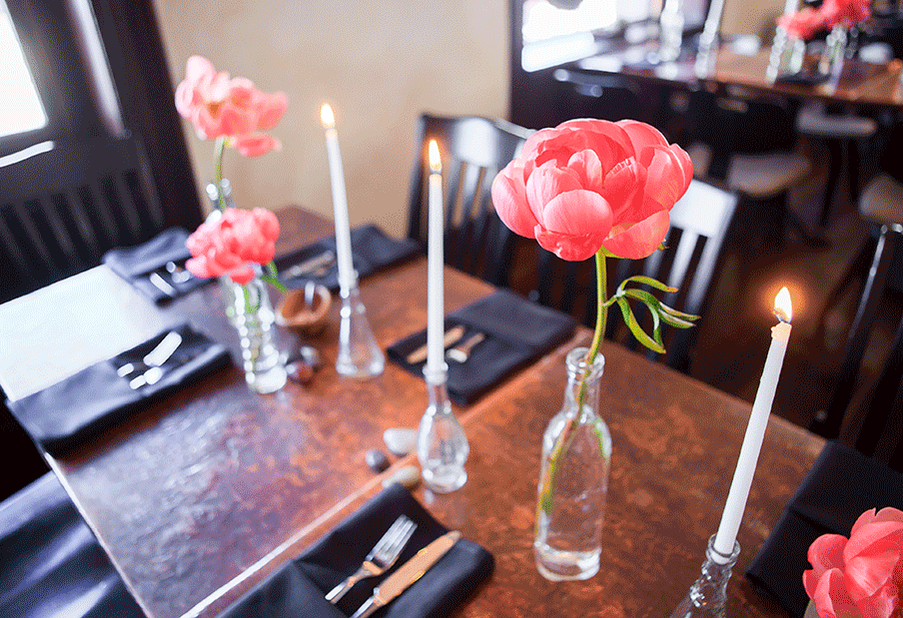 Antique Bud Vases and Tapers